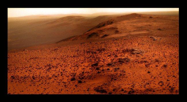 С вершины Cape Tribulation «Оппортьюнити» открылся захватывающий вид на Марс