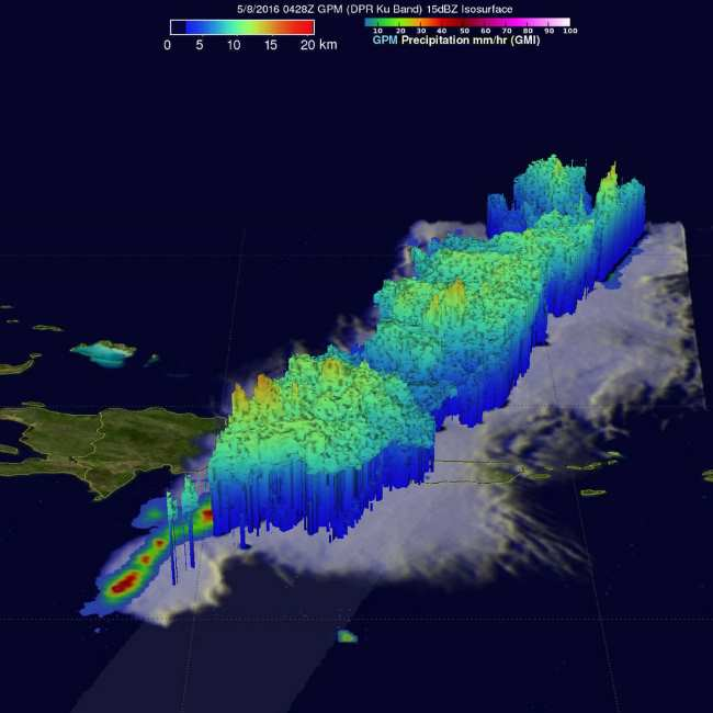 dominican republic gpm gmi dpr 8 may 2016 0428 utc 3d