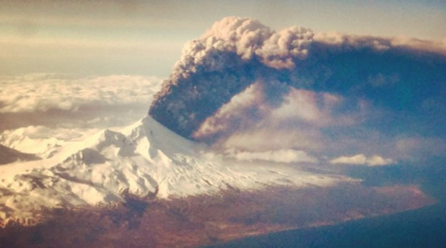 pavlof volcano eruption