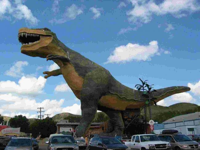 T-Rex Drumheller Alberta 1