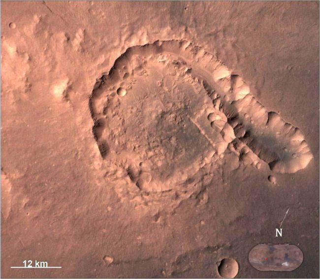 Pital-crater