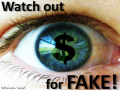 watch out for fake